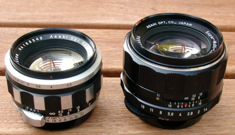 1.4 Lens 1.8-55 vs 1.4-50