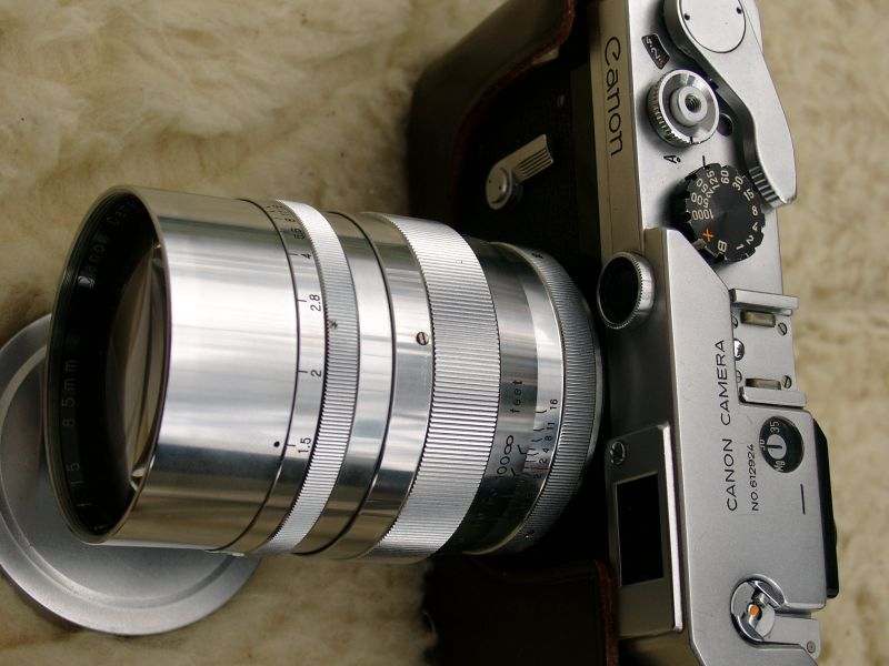 Rangefinder Cameras and Lenses of the 1950's and 1960's