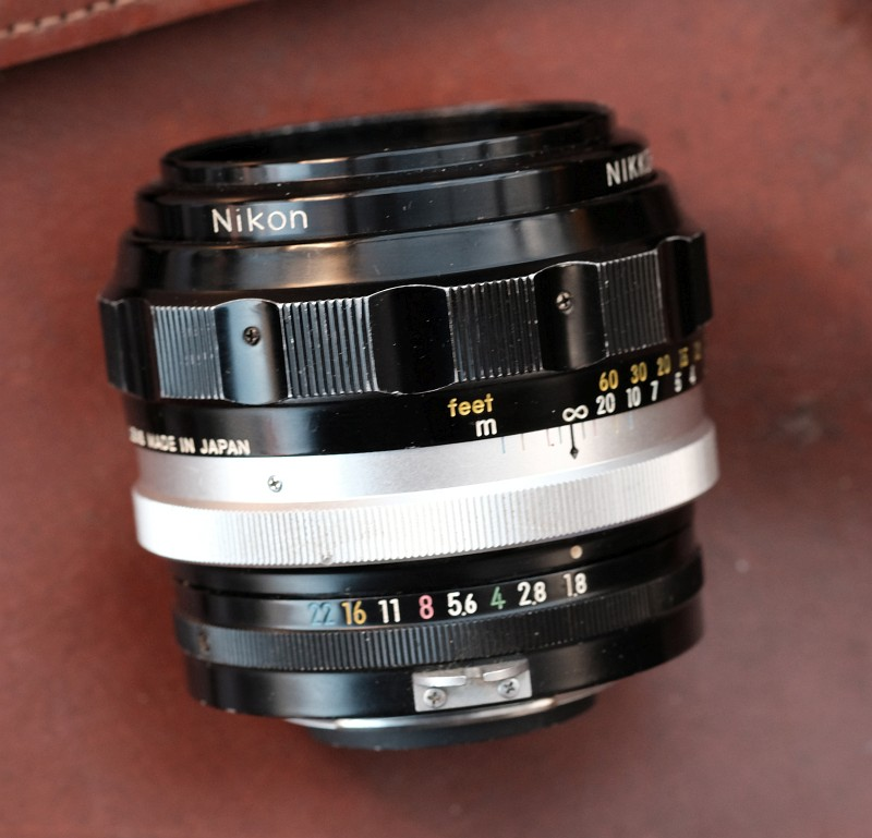 Nikkor HC 85mm 1.8