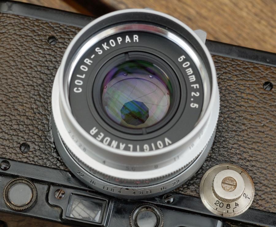 Voigtländer 50mm f/2.5